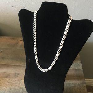 Other - 🛑925 Cuban Sterling Silver w/Diamonds SET🛑